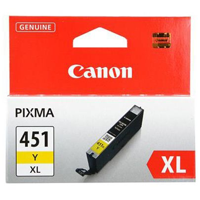 Canon CLI-451Y XL Yellow для MG6340/MG5440/IP7240