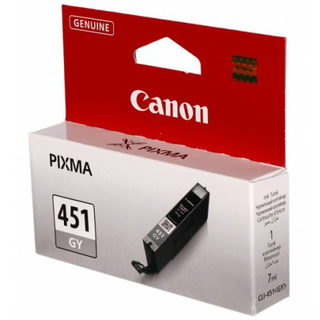 Canon CLI-451GY Gray для Pixma iP7240/MG6340/5440