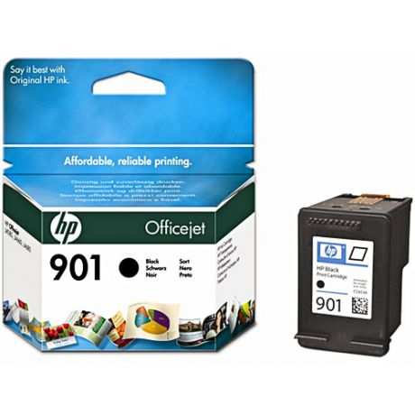 HP CC653AE №901 Black для J4580/4660