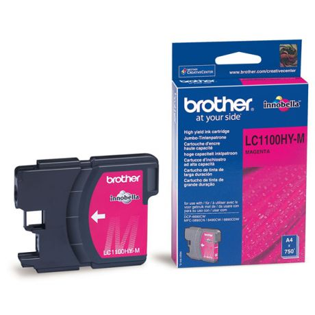 Brother LC-1100HYM Magenta для DCP6690CW (750стр)