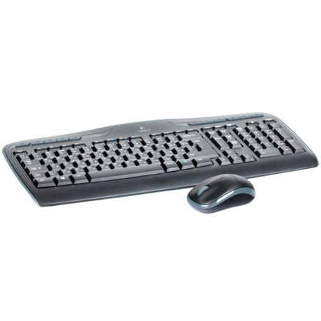 Клавиатура+мышь Logitech Wireless Combo MK330 Black USB 920-003995