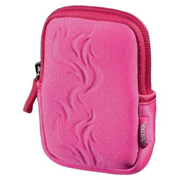 чехол Hama Fancy Neoprene Flame 50E розовый