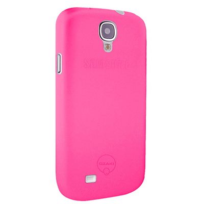 Чехол для Samsung Galaxy S4 i9500/i9505 Ozaki O!Coat-0.4 Jelly 0,4мм розовый OC701PK