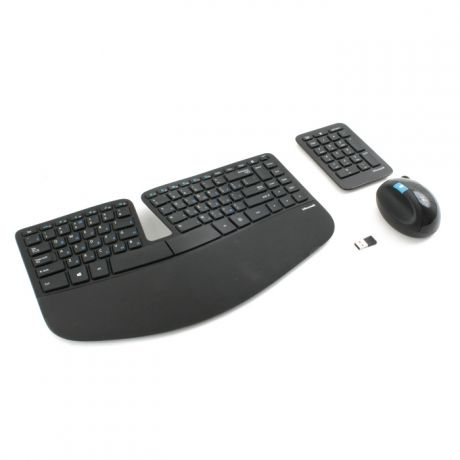 Клавиатура+мышь Microsoft Sculpt Ergonomic Desktop Multimedia Ergo Black USB L5V-00017