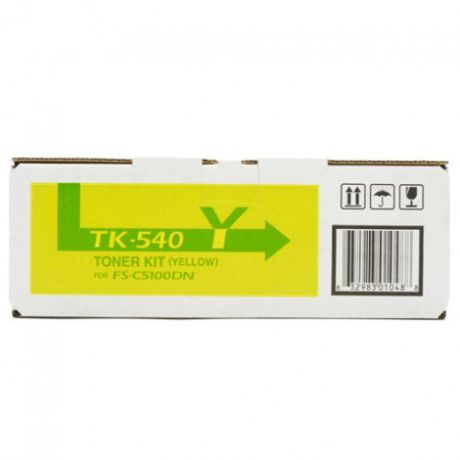 Kyocera TK-540Y Yellow для FS-C5100DN (4000стр)