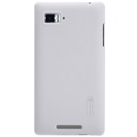 Чехол для Lenovo ideaphone K910 Vibe Z Nillkin Super Frosted Shield белый