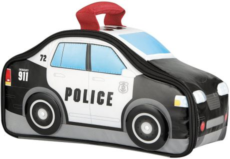 Thermos Police Car Novelty (416131) - детская термосумка (Black/White)