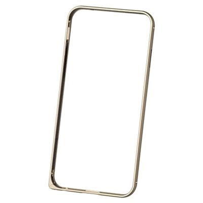 Бампер для iPhone 6 / iPhone 6s Deppa Alum Bumper Gold с пленкой