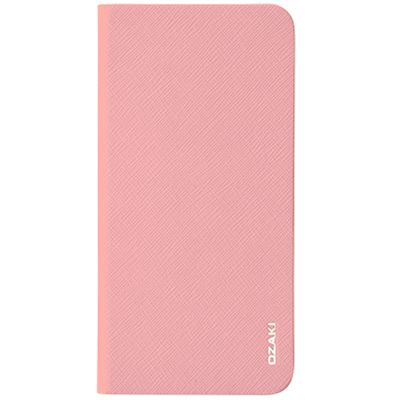 Чехол для iPhone 6 Plus/ iPhone 6s Plus Ozaki O!coat 0.4 + Folio Pink