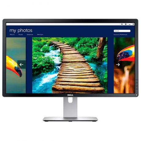 "Монитор 24"" Dell P2415Q IPS LED 3840x2160 6ms HDMI MHL DisplayPort Mini DisplayPort"