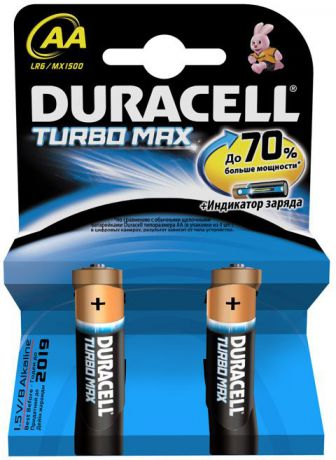 Duracell Turbo Max AA (2 шт)