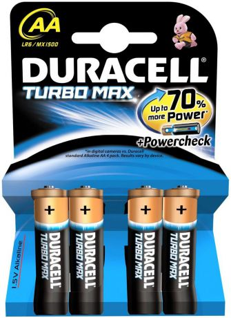 Duracell Turbo Max AA (4 шт)