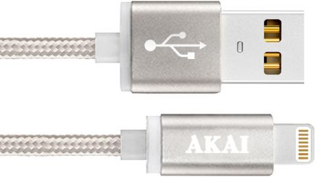 Akai CE-604B USB 2.0 - 8-pin Apple Lighting Grey