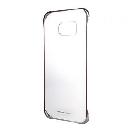 Чехол для Samsung G928 Galaxy S6 Edge Plus Clear Cover серебрянный