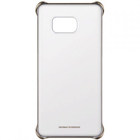Чехол для Samsung G928 Galaxy S6 Edge Plus Clear Cover золотистый