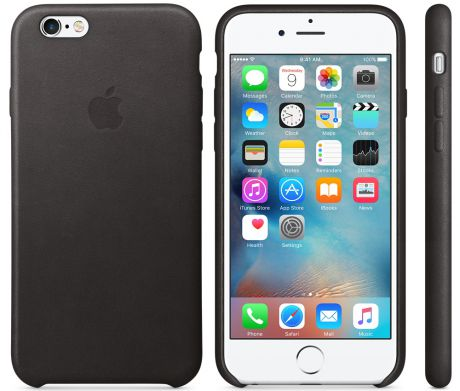 Чехол для Apple iPhone 6 / iPhone 6s Leather Case Black