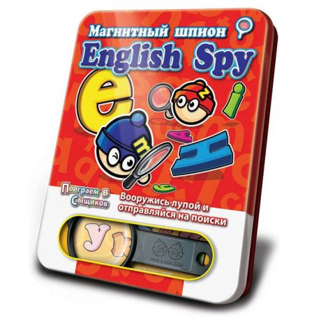 Магнитная игра Mack&Zack English Spy
