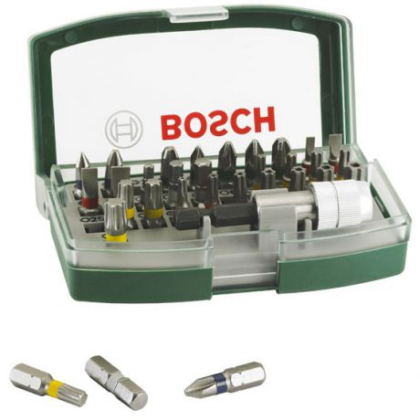Набор бит Bosch colored 32шт 2607017063