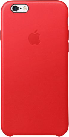 Чехол для Apple iPhone 6 / iPhone 6s Leather Case Red