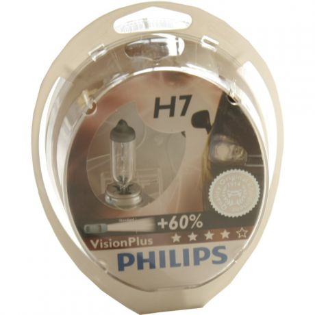 H7 55W Blue Vision Plus 2 шт. Philips