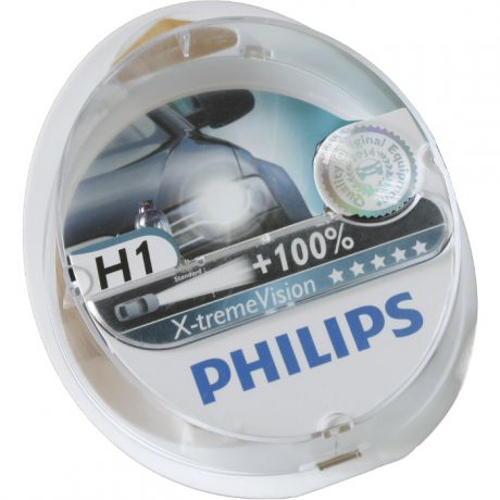 H1 55W X-treme Vision plus 2 шт. Philips