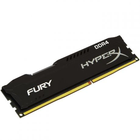 DIMM 4Gb DDR4 PC21300 2666MHz Kingston HyperX FURY Black (HX426C15FB/4)