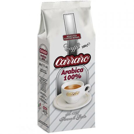 Carraro Arabica 100%  500 гр